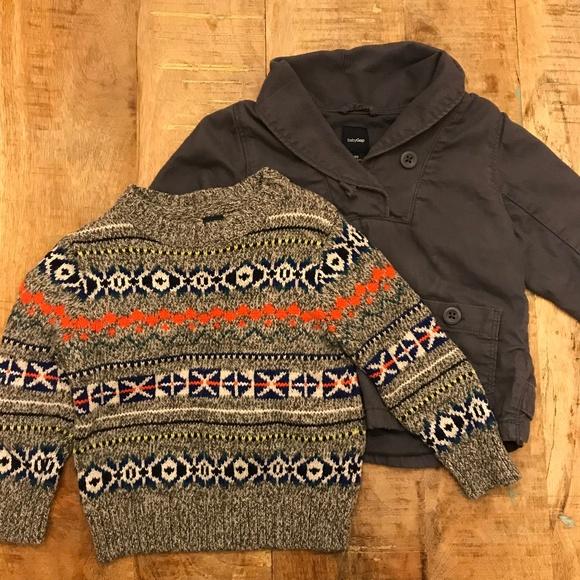fe142432b Baby Gap Sweater Shawl Collar Top Bundle 1824 M
